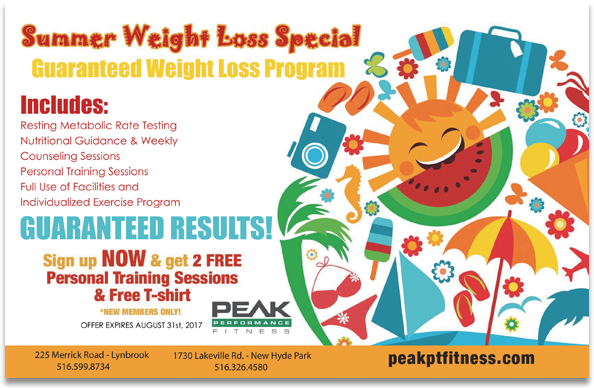 Summer Weight Loss Special