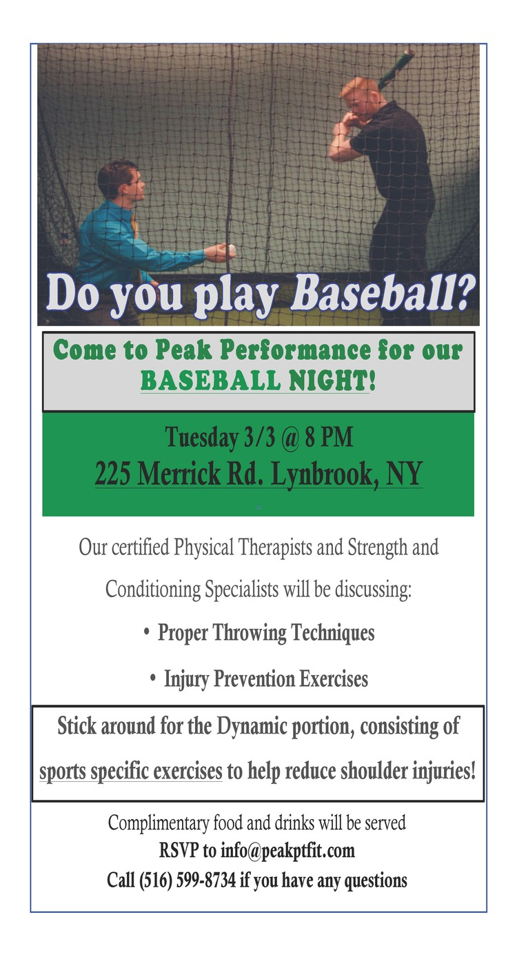 Come to Baseball Night