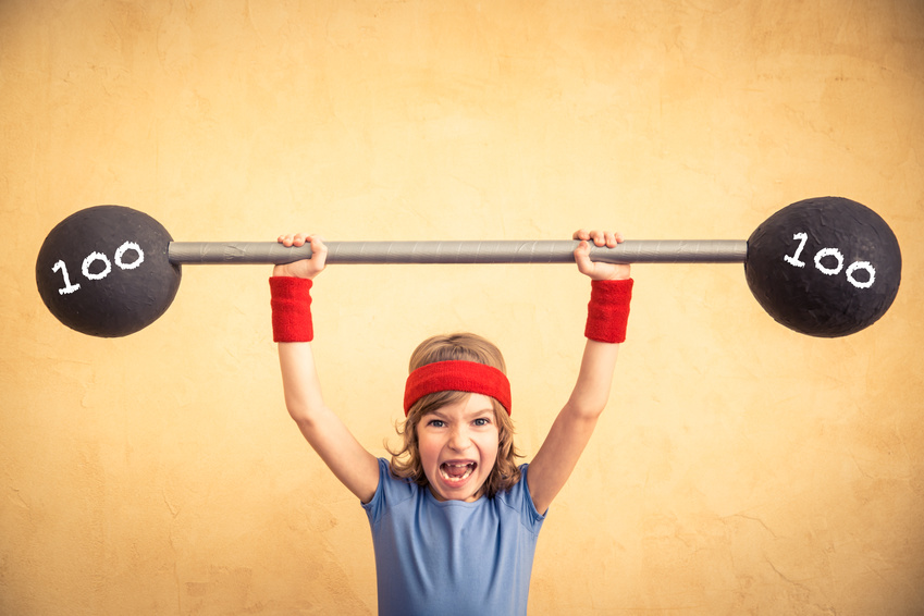 Strength Training with Kids | Peak Performance Fitness